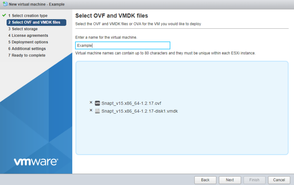 snapt-vmware-install-select-ovf-vmdk-files